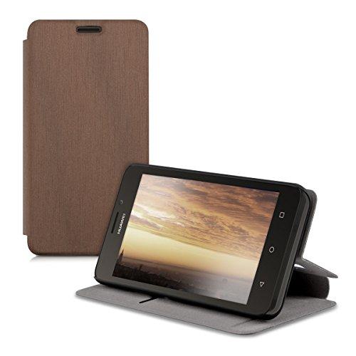 kwmobile Huawei Y635 Hülle - Flip Handy Schutzhülle - Cover Case Handyhülle für Huawei Y635