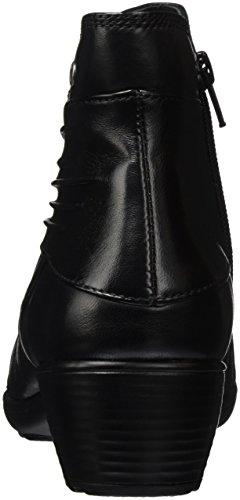 ROMIKA Banja 05, Bottes courtes avec doublure chaude femme Noir (Schwarz 110)
