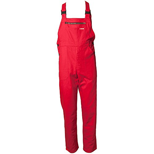 PLANAM 123028 - 123024 JUMPSUIT MEDIO DE COLOR ROJO  ROJO