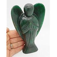 buycrafty Healing Reiki Kristall Edelstein geschnitzt Pocket Kristall Schutzengel Figuren 5,1cm ca. mit Tragetasche preisvergleich bei billige-tabletten.eu