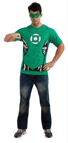 t mit Shirt, Maske und Ring - Gr. L (Green Lantern Ring Und Maske)