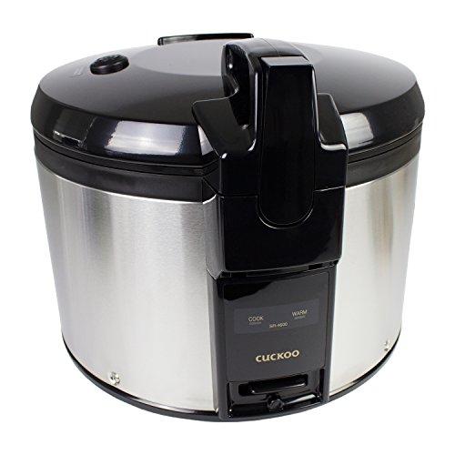 Premium Gastronomie-Reiskocher von Cuckoo, Typ SR-4600, klein (4,6L, für bis zu 26 Personen)
