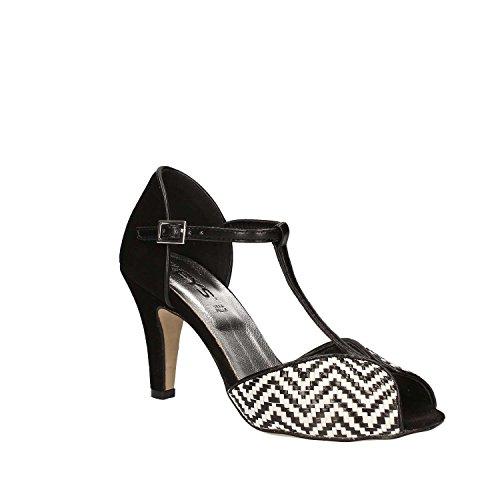 KEYS 5151 Sandalo tacco Donna Nero