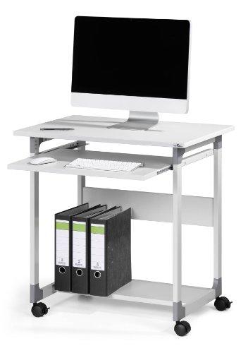 Durable 3796124 System Computer Trolley 75 FH, metallic silber / buche grau