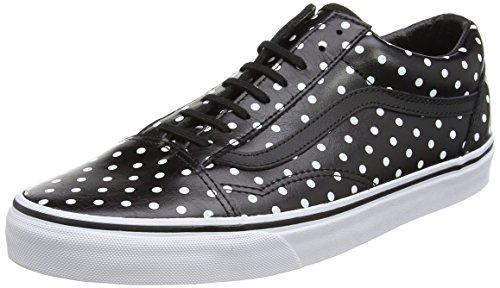 Vans U OLD SKOOL VD3HY28 Unisex-Erwachsene Sneakers Schwarz (polka Dots/black)