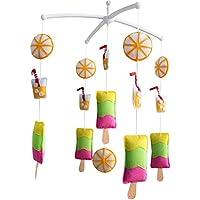 Baby Boy & Girl Bettwäsche Rattle Toy, Baby Geschenk [Erfrischende Sommer] preisvergleich bei kleinkindspielzeugpreise.eu