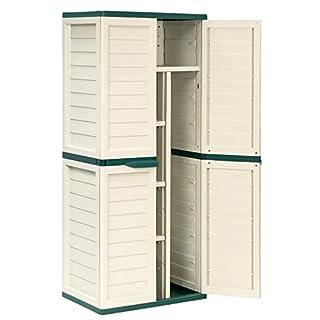 6ft Waterproof & Lockable Garden Storage Cabinet / Shed