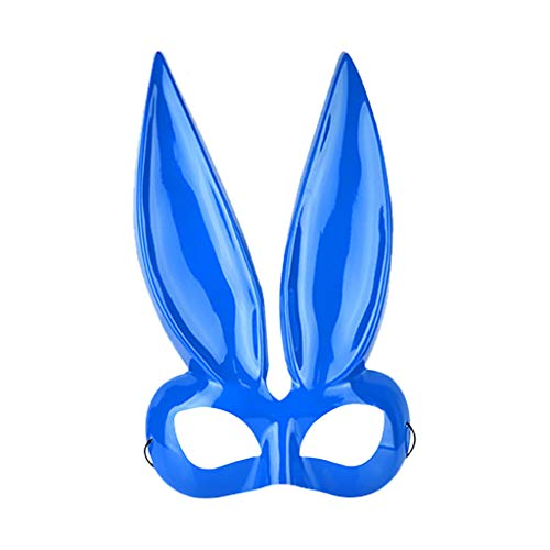 Kostüm Super Billige Schmuck - Lazzboy Damen Kaninchen Maske Kostüm Accessoire Maskerade Halloween-Maske Für Cosplay/Halloween/Party/kostüm/Bunny-Ohren(F)