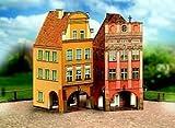 """Aue-Verlag 8 x 9 x 18 cm, motivo: """"Old Town-Kit modellismo, Set da 4 pezzi"""