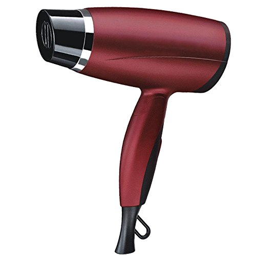 Professional AC rosso capelli asciugacapelli Mini viaggio pieghevole asciugacapelli per caldo e freddo Hair-Dryer handy travel asciugacapelli