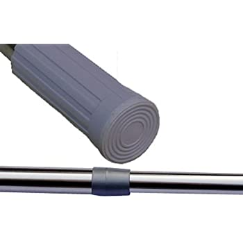 Spring Loaded Extendable Shower Curtain Pole Clothes Rail Rod 50cm-84cm #1