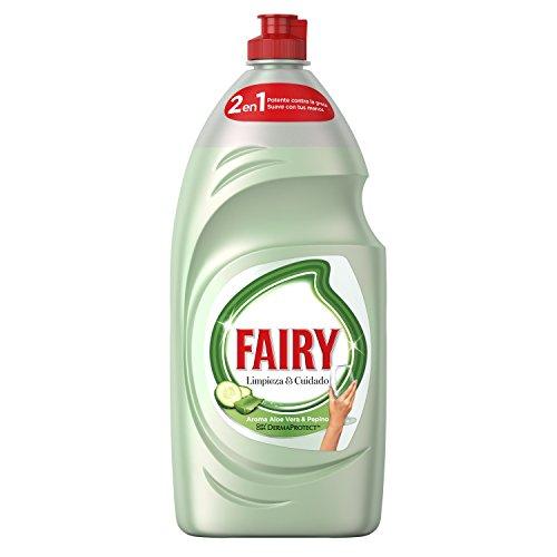 Fairy Limpieza Cuidado Líquido Lavavajillas Aloe
