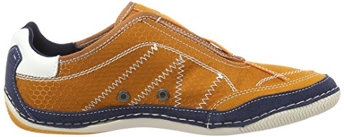 Bugatti F24746v6, Mocassins Homme Orange (Orange 340)