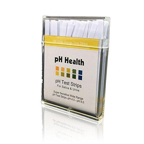 EMOTREE 200x pH Indikatorpapier Health Tester Wasser Labor Alkalinität Säure Teststreifen