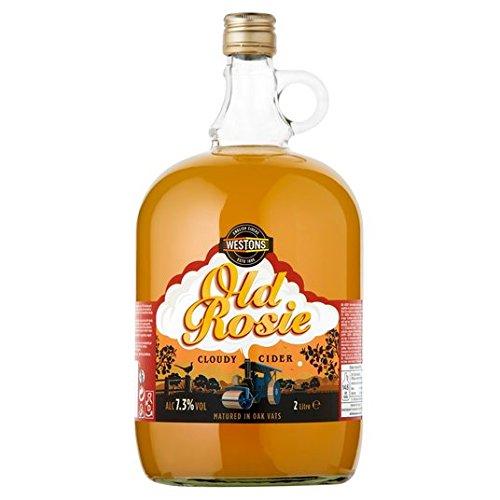 Westons Old Rosie nuageux Cider 2L