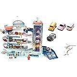 JXM DIY Car Track Parcheggio Auto Traccia A 4 Strati Materiale di Sicurezza Formazione Intellettuale Giochi al Coperto per Bambini Regalo di Compleanno di Natale