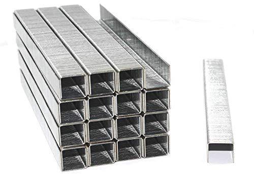 5000 Tackerklammern 24/6 Standard Handtackerklammern verzinkt/Heftklammern / Tacker-Klammern