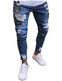 d53190fda7 Amazon.it: Lannister Fashion - Jeans / Uomo: Abbigliamento