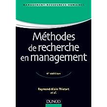 Méthodes de recherche en management - 4ème édition