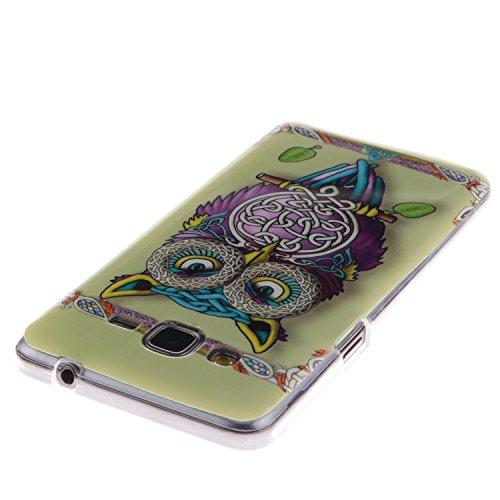 Nancen Samsung Galaxy Grand Prime SM-G530 G531F (5,0 Zoll) Ultra Slim Weich TPU Material Design Silikon Handytasche Schutzhülle, Painted Mode Anti-Kratz Handyhülle Case Hülle Backcover Tasche