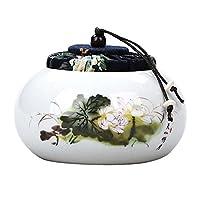 Black Temptation Tea Box/Coffee/Candy Cans/Tea Pot/Tea Set Seal Can Ceramics Tea Caddy-C1