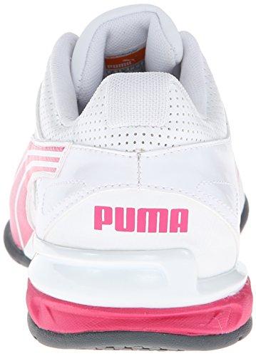 Puma Tazon 5 NM Synthétique Chaussure de Course White-Fuchsia Purple