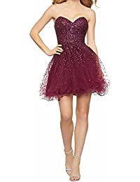 Original Love Dress Kurze Heimkehr Kleid mit Schatz Ärmellos Party Kleid  Ball Kleid Perlen Mieder Tüll d469b33a3b
