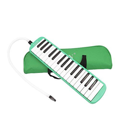 Ammoon 32 Teclas Piano Melodica Instrumento Educación