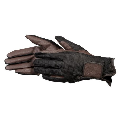 PFIFF 101600 Damen Reithandschuhe, Damenhandschuhe Handschuhe, Braun M