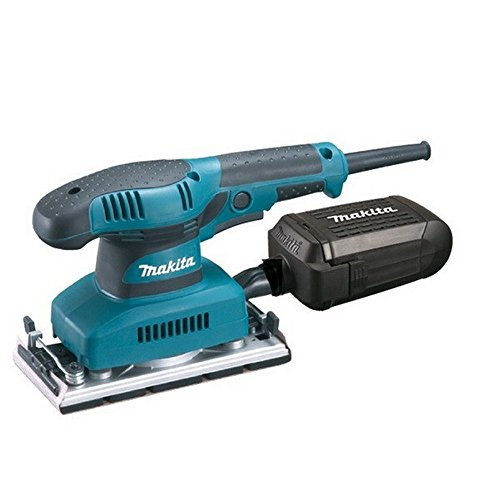 Makita BO3711 - Lijadora Orbital Electronica 190W 4000-11000 Rpm 93X185 Mm 1.5 Kg