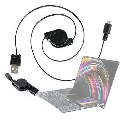 DURAGADGET Cable MicroUSB Retráctil Portátil ASUS