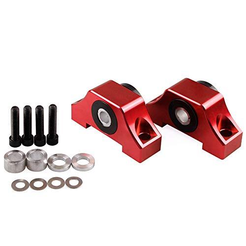 YUSHHO56T Motor Drehmoment Mount Motoren & Komponenten Motor Holder Car Motor Motor Motor Motor Mount Kit For Honda Civic D15 D16 B16 B18 B20 92-00 - Lila rot