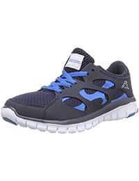 Fox NC Footwear Unisex - Zapatilla Deportiva de Material sintético Unisex Adulto, Color Azul, Talla 37 Kappa
