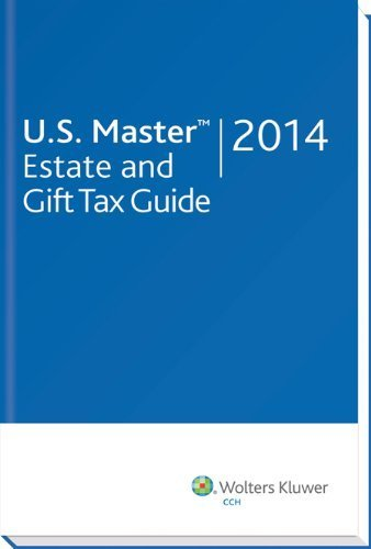U.S. Master Estate and Gift Tax Guide (2014) (U.S. Master Estate and Girft Tax Guide) by CCH Tax Law Editors (2013) Perfect Paperback