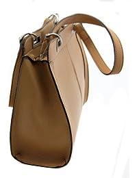Damen Shopper - Handtasche / Henkeltasche - Viel Stauraum - Original Monte Lovis - Verschiednene Farben