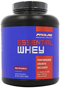 Prolab Essential Whey Wild Straw - 5 Pounds