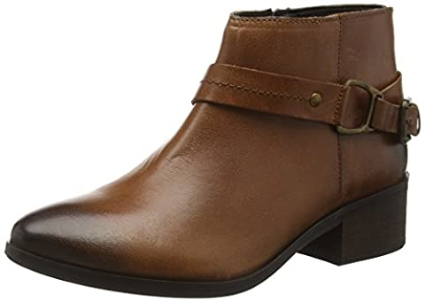 Joe Browns Women's Stylish Lace Back Riding Ankle Boots, Brown