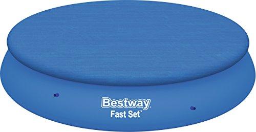 Bestway 58034 - Cobertor Para Piscina Estructura Metálica, 366 cm diámetro