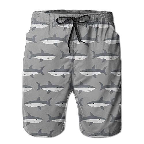 RDHOPE-Men Printed Swim Trunk Beach Holiday Breathable Bermuda Shorts
