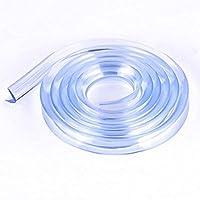 Dealglad® 1m Striscia antiurto in morbido silicone tavolo angolo bordo Bambino infantile protezione Cuscini Pad sicurezza del bambino prodotti