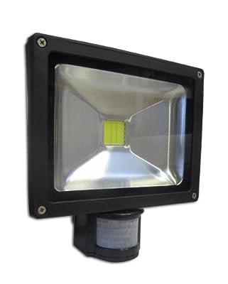 LED-Strahler 20W mit Bewegungsmelder von qteck GmbH bei Lampenhans.de