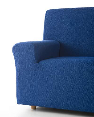 Zebra Textil 12254copridivano Elasticizzato Beta, 2posti, Blu