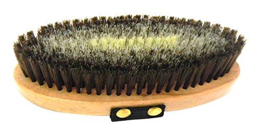 Cottage Craft R200 - Cepillo para el cuidado del caballo (cuerpo), color marrón/marrón claro, talla M