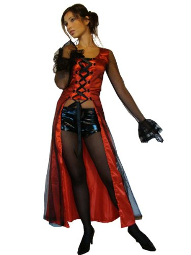 Maylynn 10931-L - Vampir Kostüm Morgena, 2-teilig, Größe L, circa 38/40