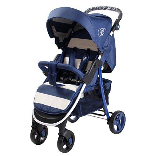 My Babiie MB30 Billie Faiers Blue Stripes Pushchair