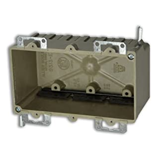 Allied Moulded 9313=EWK Three Gang Fiberglass Box by Allied Moulded