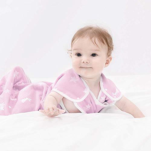 Foundation Star (Baby 6-Lagen Gaze Jacquard Weste Schlafsack 48 * 80Cm (Empfohlen 6-12 Monate) Foundation Star Bunny)