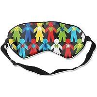 Sleep Eye Mask Puzzle Piece Lightweight Soft Blindfold Adjustable Head Strap Eyeshade Travel Eyepatch preisvergleich bei billige-tabletten.eu