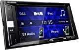 JVC KW-V255DBT DAB+ Multimedia-Autoradio mit 15,7 cm Touchscreen (2-DIN, DVD, Bluetooth Freisprecheinrichtung, Soundprozessor, USB, Android- & Spotify Control) Schwarz