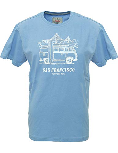 Van One Classic Cars T Shirt Herren San Francisco T-Shirt Sport Outdoor -